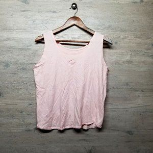 Flower Embroidered Tank Top. Shirt. Perfect! Soft!